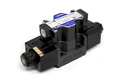 DSG 03 Yuken Series Plug-in Connector Type Hydraulic Electromagnetic Reversing Valve with Emergency Handle; Hydraulic Cartridge Solenoid Valve