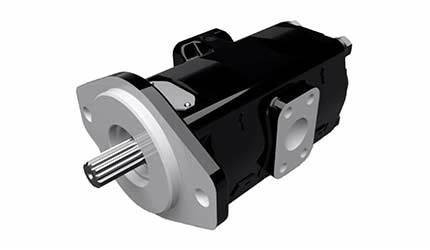 hydraulic gear pump motor