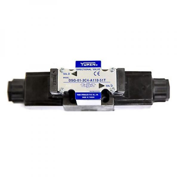 DSG 01 Yuken Series Plug-in Connector Type with Indicator Light (Optionals) Hydraulic Solenoid Operated Directional Valve; Hydraulic Cartridge Solenoid Valve #1 image